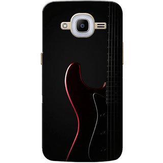 Galaxy J2 2016 Case, Galaxy J2 Pro 2016 Case, Guitar Black Slim Fit Hard Case Cover/Back Cover for Samsung Galaxy J2 Pro 2016/Galaxy J2 2016
