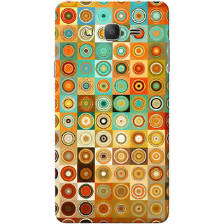 Galaxy On7 Case, Galaxy On7 Pro Case, Multi Color Circles Slim Fit Hard Case Cover/Back Cover for Samsung Galaxy On 7/On7 Pro
