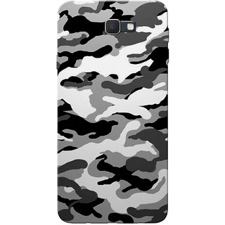 promo code e7413 4c220 Buy Galaxy J7 Prime Case, Military Army Grey Black Slim Fit Hard ...