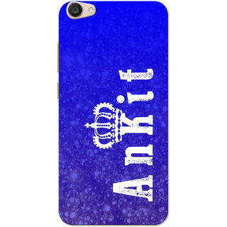 Vivo V5 Plus Case, Ankit Blue Slim Fit Hard Case Cover/Back Cover for Vivo V5 Plus