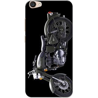Vivo V5 Plus Case, Grey Bul Black Slim Fit Hard Case Cover/Back Cover for Vivo V5 Plus