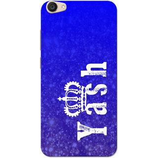 Vivo V5 Plus Case, Yash Blue Slim Fit Hard Case Cover/Back Cover for Vivo V5 Plus