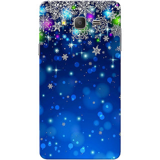 Galaxy On7 Case, Galaxy On7 Pro Case, Blue Stars Slim Fit Hard Case Cover/Back Cover for Samsung Galaxy On 7/On7 Pro
