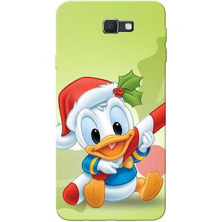 Galaxy J7 Prime Case, DD Green Slim Fit Hard Case Cover/Back Cover for Samsung Galaxy J7 Prime (G610F/DD)