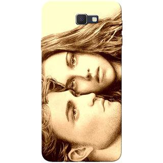 Galaxy J7 Prime Case, Twilight Edward Bella Yellow Brown Slim Fit Hard Case Cover/Back Cover for Samsung Galaxy J7 Prime (G610F/DD)