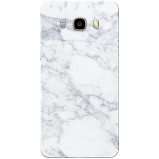 Galaxy J7 2016 Case, Galaxy On8 Case, Marble White Slim Fit Hard Case Cover/Back Cover for Samsung Galaxy On8/ J7 2016