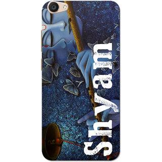 Vivo V5 Plus Case, Shyam Blue Slim Fit Hard Case Cover/Back Cover for Vivo V5 Plus