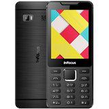 Infocus Hero Smart P2 (F130) Dual Sim 2.8 Big Display 1500 mAh Battery - Black