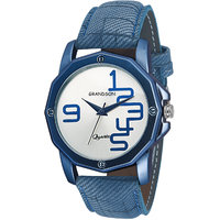 Grandson Blue Casual Analog Watch For Boy's And Men