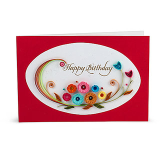 Buy Handcrafted Emotions Handmade Birthday Greeting Card Online