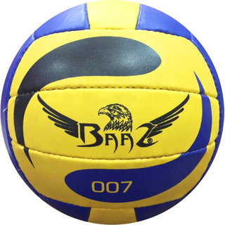 Baaz Volleyball (Pack of 1, Multicolor)