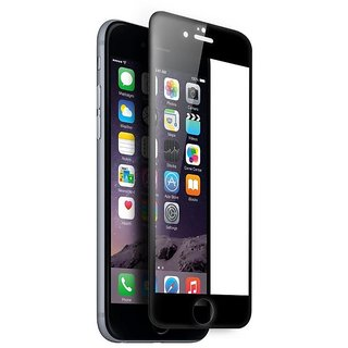 Archist 5D SMOOTH EDGES SOLID TEMPERED GLASS FOR APPLE IPHONE 7S PLUS (BLACK)
