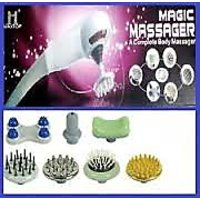 MAGIC MASSAGER WITH 7 ATTACHMENT INFRARED VARIABLE SPEED FULL BODY MASSAG