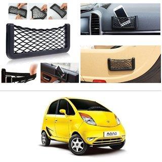 AutoStark Storage Bag Box Car Seat Side Back Net Phone Holder Pocket Organizer For Tata Nano