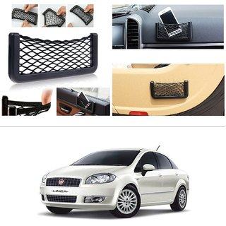 AutoStark Storage Bag Box Car Seat Side Back Net Phone Holder Pocket Organizer For Fiat New Linea 2014