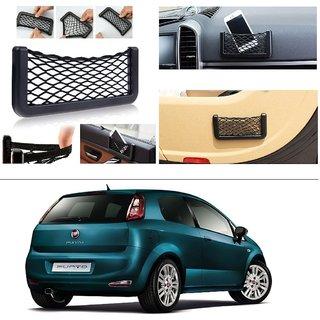 AutoStark Storage Bag Box Car Seat Side Back Net Phone Holder Pocket Organizer For Fiat New Punto 2015