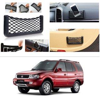 AutoStark Storage Bag Box Car Seat Side Back Net Phone Holder Pocket Organizer For Tata Safari