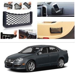 AutoStark Storage Bag Box Car Seat Side Back Net Phone Holder Pocket Organizer For Volkswagen Jetta 2009