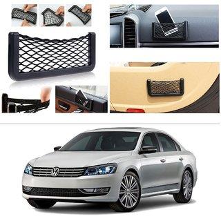 AutoStark Storage Bag Box Car Seat Side Back Net Phone Holder Pocket Organizer For Volkswagen New Passat 2015