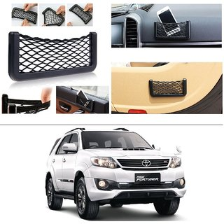 AutoStark Storage Bag Box Car Seat Side Back Net Phone Holder Pocket Organizer For Toyota Fortuner