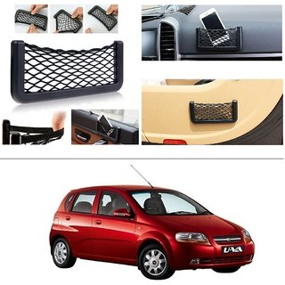 AutoStark Storage Bag Box Car Seat Side Back Net Phone Holder Pocket Organizer For Chevrolet Aveo Uva