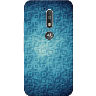 premium selection 3b5ed 39b8a Moto G4 Plus, Moto G4 Case, Crystal Blue Slim Fit Hard Case Cover/Back  Cover for Moto G4 Plus/Motorola Moto G4/Moto G Plus 4th Gen/Moto G 4th Gen