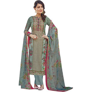 Karachi Womens Pure Cotton Digital Printed Dress Material-Quality Product