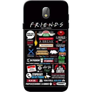 finest selection 40ffd 36179 Samsung J7 Pro Case, Friends Black Slim Fit Hard Case Cover/Back Cover for  Samsung J7 Pro Case