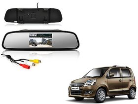 4.3 Inch Rear View TFT LCD Monitor Mirror Screen Display For Reverse Parking and Rear View For Maruti Suzuki Wagon R