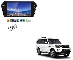 7 Inch Full HD Bluetooth LED Video Monitor Screen with USB and Bluetooth For Mahindra Scorpio