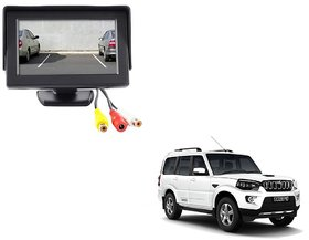 4.3 inch LCD TFT Standing Monitor Display For Mahindra Scorpio  - Useful For Reverse Parking Camera Output or Any Video Output