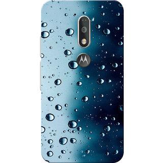 reputable site 16427 8d46a Moto G4 Plus, Moto G4 Case, Water Droplets Blue Black Slim Fit Hard Case  Cover/Back Cover for Moto G4 Plus/Motorola Moto G4/Moto G Plus 4th Gen/Moto  G ...