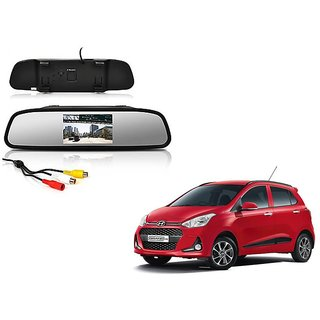 4.3 Inch Rear View TFT LCD Monitor Mirror Screen Display For Reverse Parking and Rear View For Hyundai Grand i10