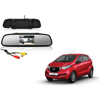 4.3 Inch Rear View TFT LCD Monitor Mirror Screen Display For Reverse Parking and Rear View For Datsun Redi Go