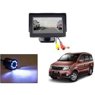 Reverse Parking Camera Display Combo For Mahindra Xylo - Night Vision Camera with 4.3 inch LCD TFT Monitor Display