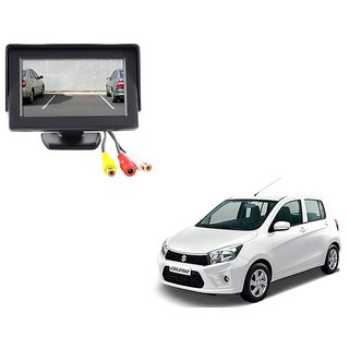 4.3 inch LCD TFT Standing Monitor Display For Maruti Suzuki Celerio  - Useful For Reverse Parking Camera Output or Any Video Output