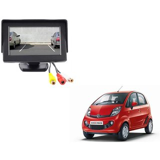 4.3 inch LCD TFT Standing Monitor Display For Tata Nano  - Useful For Reverse Parking Camera Output or Any Video Output