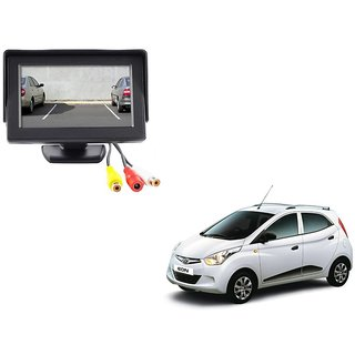 4.3 inch LCD TFT Standing Monitor Display For Hyundai Eon  - Useful For Reverse Parking Camera Output or Any Video Output