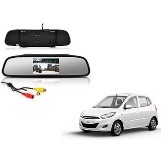 4.3 Inch Rear View TFT LCD Monitor Mirror Screen Display For Reverse Parking and Rear View For Hyundai i10