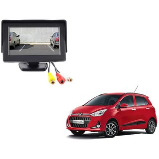 4.3 inch LCD TFT Standing Monitor Display For Hyundai Grand i10  - Useful For Reverse Parking Camera Output or Any Video Output