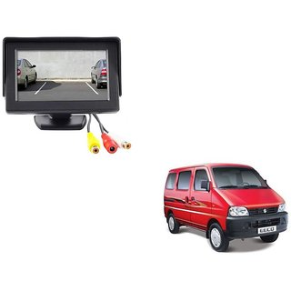 4.3 inch LCD TFT Standing Monitor Display For Maruti Suzuki Eeco  - Useful For Reverse Parking Camera Output or Any Video Output