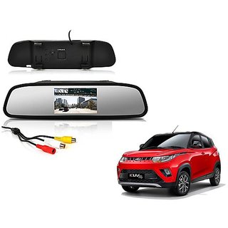 4.3 Inch Rear View TFT LCD Monitor Mirror Screen Display For Reverse Parking and Rear View For Mahindra KUV 100