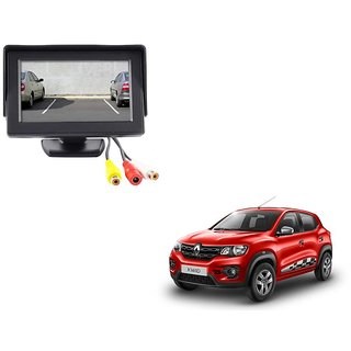 4.3 inch LCD TFT Standing Monitor Display For Renault Kwid  - Useful For Reverse Parking Camera Output or Any Video Output
