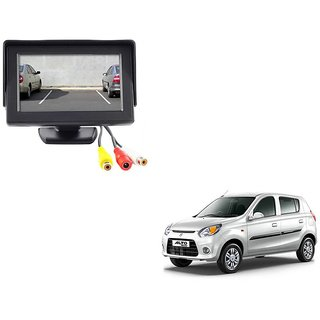 4.3 inch LCD TFT Standing Monitor Display For Maruti Suzuki Alto 800  - Useful For Reverse Parking Camera Output or Any Video Output