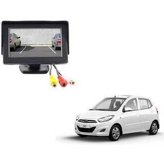 4.3 inch LCD TFT Standing Monitor Display For Hyundai i10  - Useful For Reverse Parking Camera Output or Any Video Output