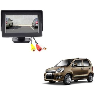 4.3 inch LCD TFT Standing Monitor Display For Maruti Suzuki Wagon R  - Useful For Reverse Parking Camera Output or Any Video Output