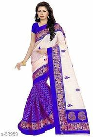 Dashing Look Trendy Bagalpuri Silk Saree for women fashion