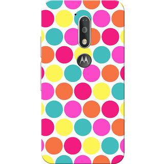 Moto G4 Plus, Moto G4 Case, Small Circles Slim Fit Hard Case Cover/Back Cover for Moto G4 Plus/Motorola Moto G4/Moto G Plus 4th Gen/Moto G 4th Gen