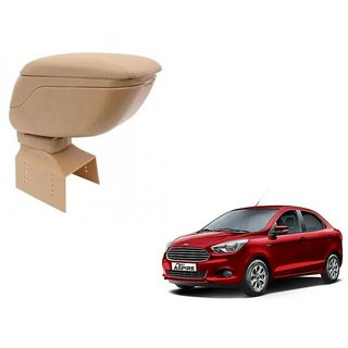 Beige Arm Rest Console For Ford Figo Aspire