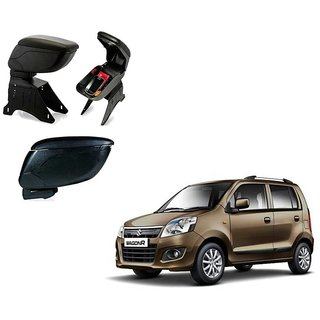 Black Arm Rest Console For Maruti Suzuki Wagon R
